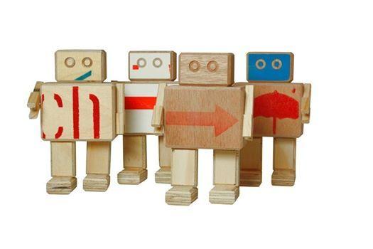 Brede School Netwerk Noord  Robotjes van afvalhout