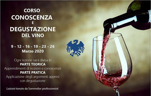 Corso Conoscenza E Degustazione Del Vino