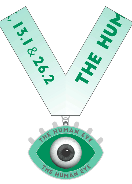 The Human Eyes 1 Mile 5K 10K 13.1 26.2- New York