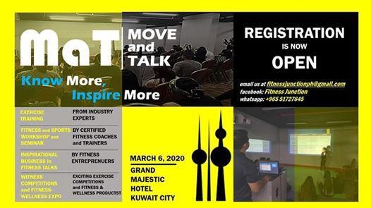 MOVE and TALK 2020