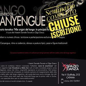 Encuentro di Canyengue con i MuyLindoTango