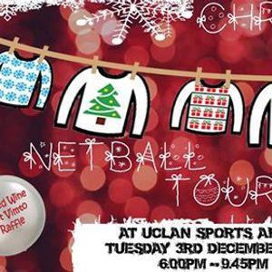 UCLan Sports Arena Christmas Jumper Netball Tournament 2019