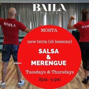 Mosta Salsa & Merengue course lev 1