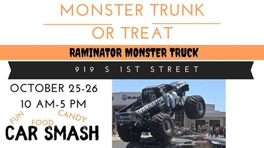Tate Branch Artesia >> Monster Trunk Or Treat At Tate Branch Artesia Artesia