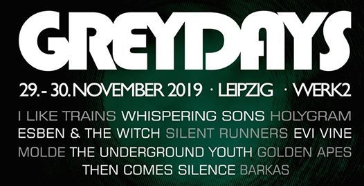 Grey Days Festival Leipzig 2019