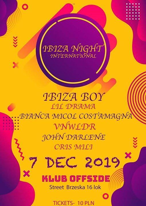 Ibiza night international