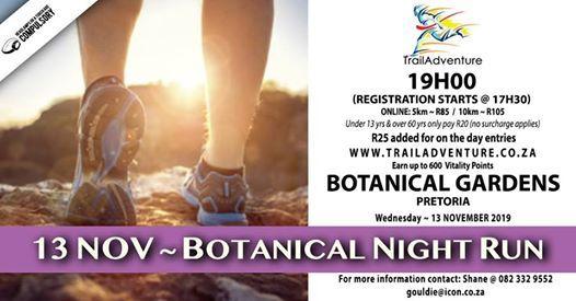 TrailAdventure Botanical Night RunWalk