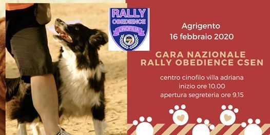 Gara Nazionale Rally Obedience Csen