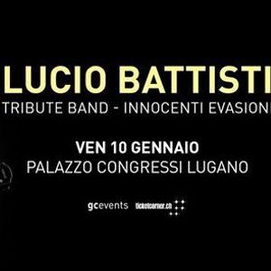 Lucio Battisti Tribute Band - Lugano - 10.01.2020