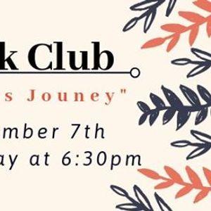 "Adult Bookclub November &quotCilkas Journey"""