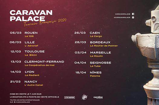 Caravan Palace  26.03.20  Le Cargo