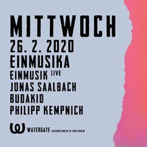 Mittwoch Einmusika with Einmusik Live Jonas Saalbach and more