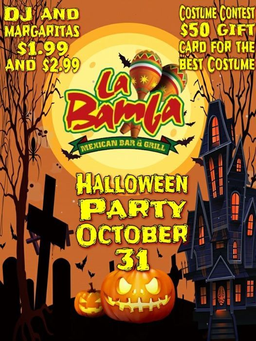 Duluth Halloween Events 2020.Halloween Party At La Bamba Loganville Loganville