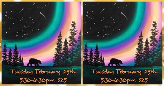 Aurora Bear Kids Paint Class for Ages 6