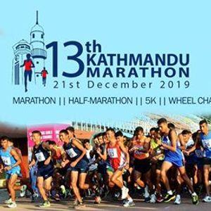 13th Kathmandu Marathon 2019