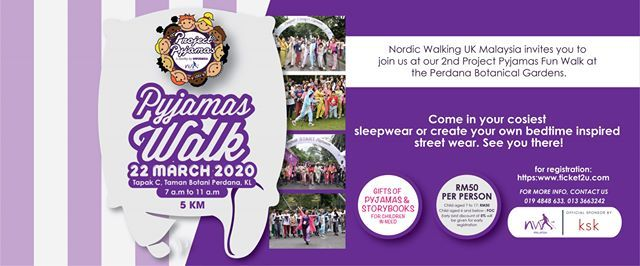 Pyjamas FUN WALK 2020