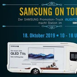 SAMSUNG on Tour  Der Samsung Promotion-Truck macht Station in Hamm