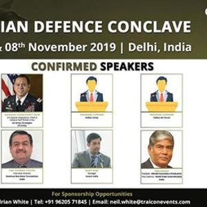 2nd Annual Indian Defence Conclave 2019