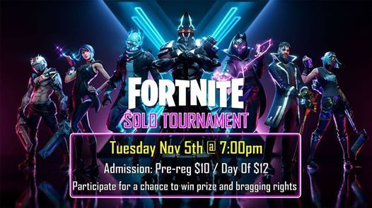 Fortnite Solos Tournament At Playlive Nation Vancouver