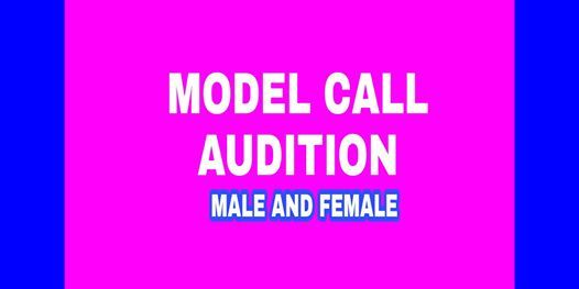 I WANNA BE A MODEL TOO MODEL CALL AGES 6 AND UP