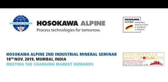 Hosokawa Alpines 2nd Industrial Mineral Seminar