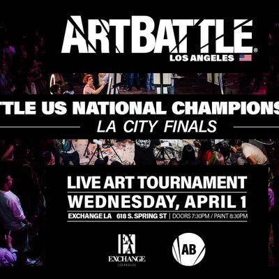 Art Battle Los Angeles City Finals - April 1 2020