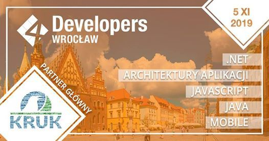 4Developers Wrocaw 2019