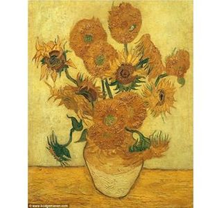 Van Gogh Sunflowers - Six Tanks
