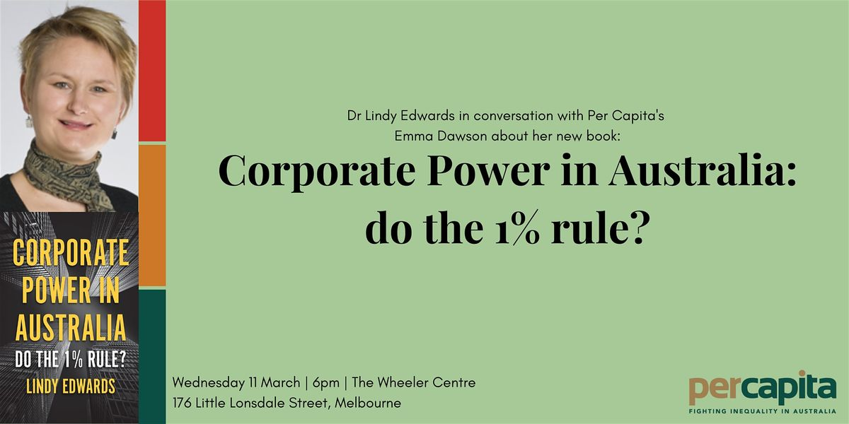 Corporate Power in Australia: do the 1% rule?