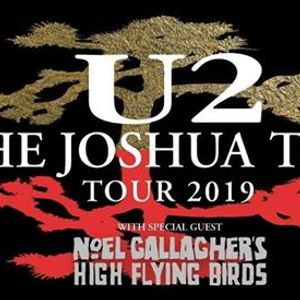 U2 The Joshua Tree Tour 2019