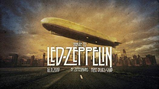 Zeppelinians Tribute to Led Zeppelin Szczecin Free Blues Club