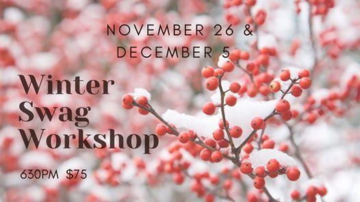 Winter Swag Workshop (Nov 26)