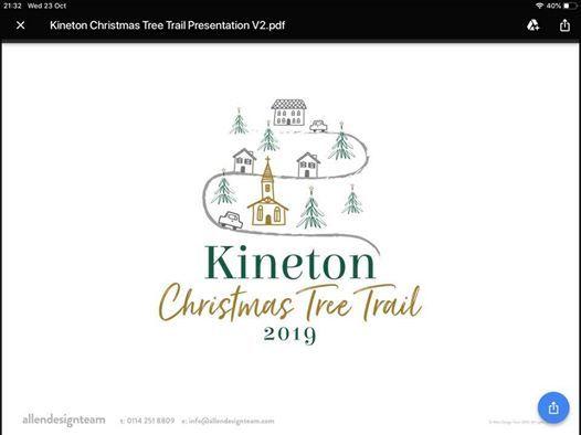 Kineton Christmas tree trail
