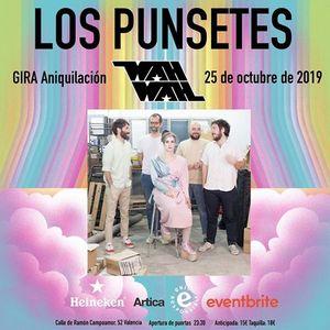 Los Punsetes - GIRA Aniquilacin en Valencia
