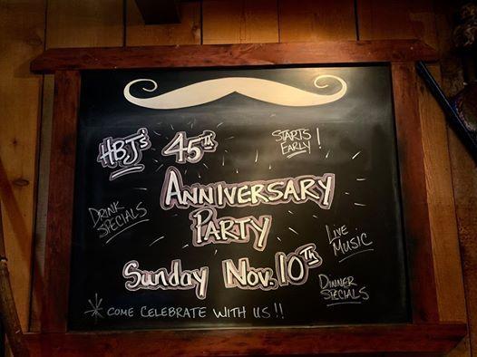 Scottsdales World Famous Handlebar J 45th Anniversary Party