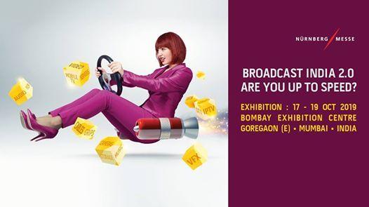 Broadcast India Show Mumbai 17-19th October