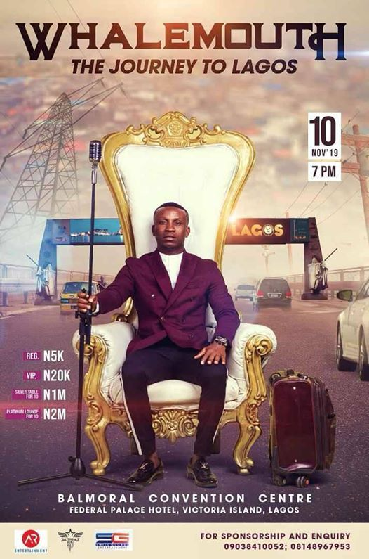 Image result for WhaleMouth the journey of Lagos