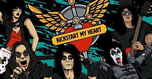 Kickstart My Heart- 80s Metal & Power Ballads Night (Newcastle)