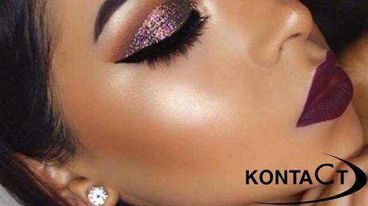 Perfekcyjne brwi usta i kreska  glow make up