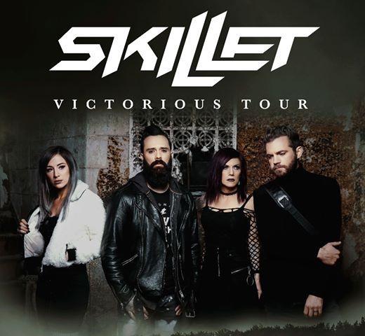 Skillet Victorious Tour