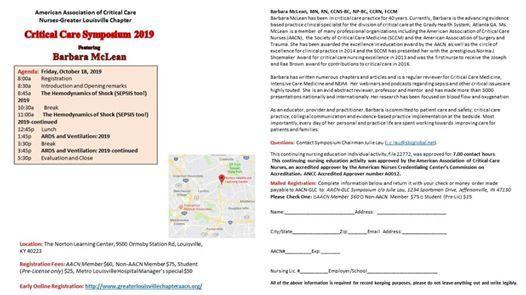 Annual Critical Care Symposium