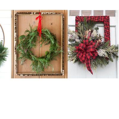 Holiday Mixed Greens Wreath Workshop