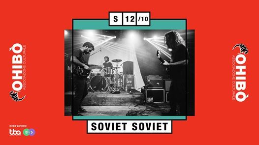 Soviet Soviet in concerto allOhib