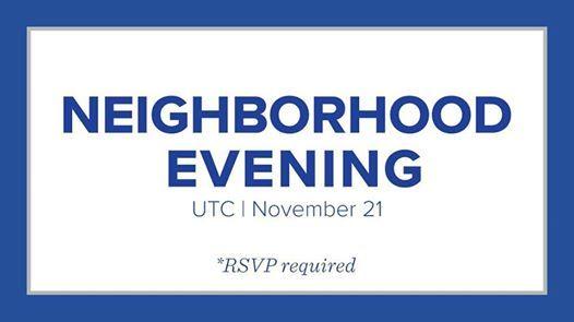 Neighborhood Evening - UTC
