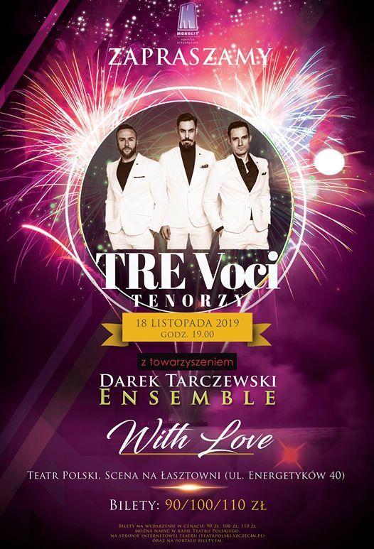 Koncert Tre Voci with Love w Szczecinie