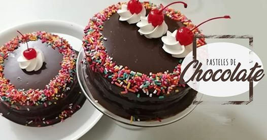 CursoTaller pasteles de chocolate
