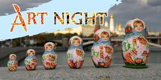 Matroyoshka ArtNight Russian doll workshop
