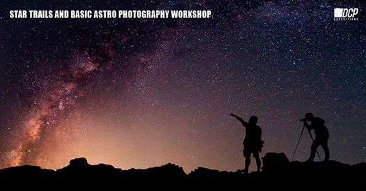 Star Trails Photography and Light Painting Workshop
