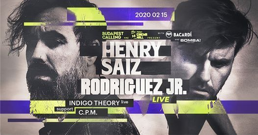 Henry Saiz  Rodriguez Jr. Budapest Calling Cinema Hall 02.15