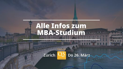 QS Connect MBA Zrich  MBA-Event